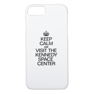 KEEP CALM AND VISIT THE KENNEDY SPACE CENTER iPhone 8/7 CASE
