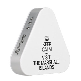 KEEP CALM AND VISIT THE MARSHALL ISLANDS SPEAKER