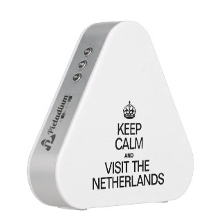 KEEP CALM AND VISIT THE NETHERLANDS SPEAKER