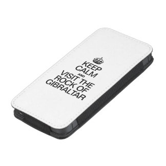 KEEP CALM AND VISIT THE ROCK OF GIBRALTAR iPhone 5 POUCH
