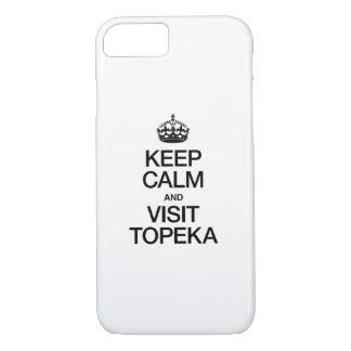 KEEP CALM AND VISIT TOPEKA.ai iPhone 7 Case