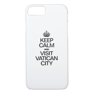 KEEP CALM AND VISIT VATICAN CITY iPhone 8/7 CASE