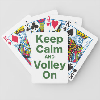 Keep Calm and Volley On Card Decks