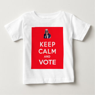 Keep Calm and Vote Baby T-Shirt