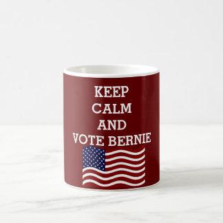 KEEP CALM AND VOTE BERNIE 2016 COFFEE MUG