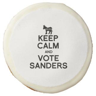 Keep Calm and Vote Bernie Sanders Sugar Cookie
