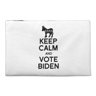 KEEP CALM AND VOTE BIDEN - png Travel Accessory Bags