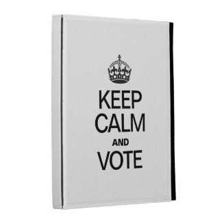KEEP CALM AND VOTE iPad CASES