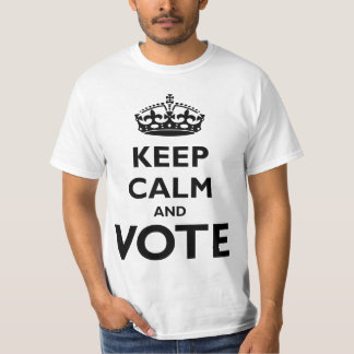 Keep Calm and Vote Election Shirt