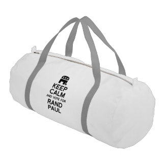 Keep Calm and Vote for Rand Paul Gym Duffel Bag