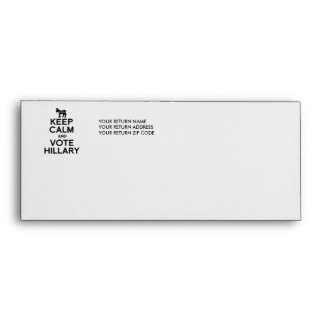 KEEP CALM AND VOTE HILLARY.png Envelope