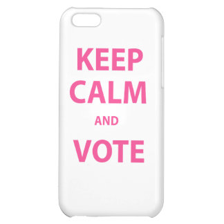 Keep Calm and Vote! iPhone 5C Cover