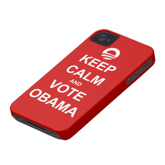 Keep Calm and Vote Obama 2012 iPhone 4 Case