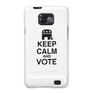 KEEP CALM AND VOTE REPUBLICAN.png Samsung Galaxy SII Case