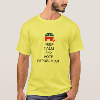 Keep Calm and Vote Republican T-Shirt