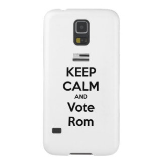 Keep Calm and Vote Rom Case For Galaxy S5