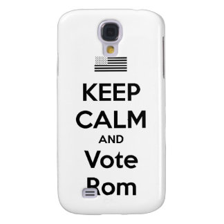 Keep Calm and Vote Rom Phone Case Samsung Galaxy S4 Cases