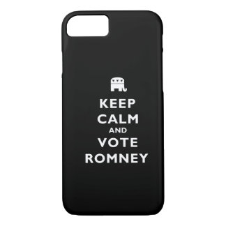 Keep Calm And Vote Romney iPhone 7 Case