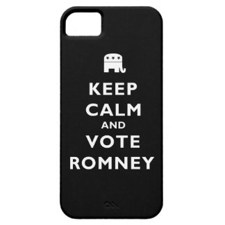 Keep Calm And Vote Romney iPhone SE/5/5s Case