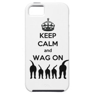 KEEP CALM and WAG ON iPhone SE/5/5s Case