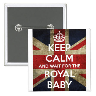 Keep Calm... And Wait for the Royal Baby Button