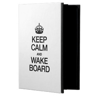 KEEP CALM AND WAKEBOARD COVER FOR iPad AIR
