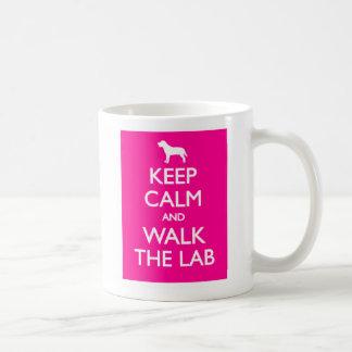 Keep Calm And Walk The Labrador Coffee Mug