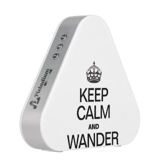 KEEP CALM AND WANDER BLUETOOTH SPEAKER