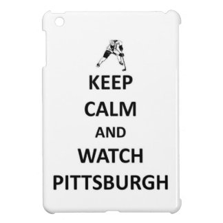 Keep calm and watch Pittsburgh iPad Mini Cover