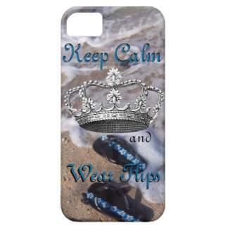 Keep Calm and Wear Flip Flop Sandals iPhone SE/5/5s Case