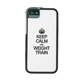 KEEP CALM AND WEIGHT TRAIN