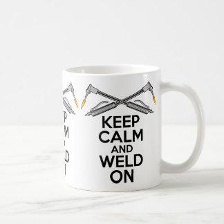 Keep Calm and Weld On Coffee Mug