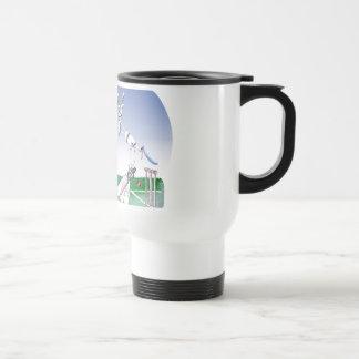 keep calm and well grounded, tony fernandes travel mug