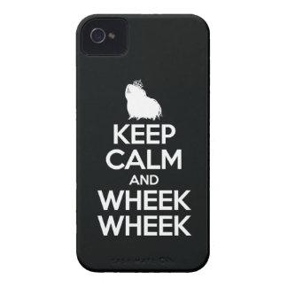 Keep Calm and Wheek Wheek iPhone 4 Case