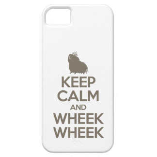 Keep Calm and Wheek Wheek iPhone SE/5/5s Case