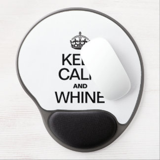 KEEP CALM AND WHINE GEL MOUSE PADS