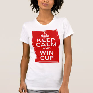 Keep Calm and Win Cup ~ England Footie T-Shirt