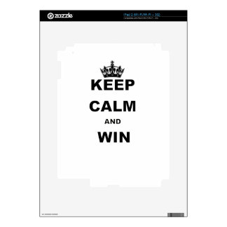 KEEP CALM AND WIN SKINS FOR THE iPad 2