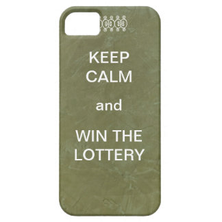 Keep Calm and Win The Lottery iPhone SE/5/5s Case