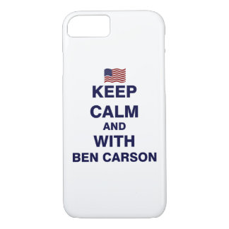 Keep Calm and With Ben Carson iPhone 8/7 Case