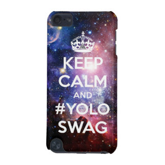 Keep calm and #yolo swag iPod touch (5th generation) cover