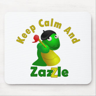 Keep Calm and Zazzle Mouse Pad