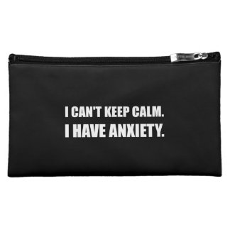 Keep Calm Anxiety Cosmetic Bag