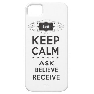 Keep Calm - Ask, Believe, Receive Casemate Case