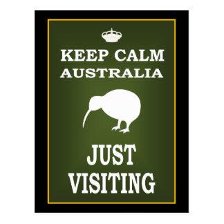 KEEP CALM AUSTRALIA POSTCARD