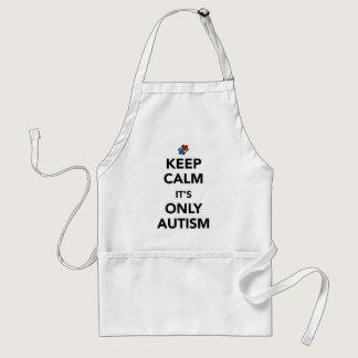 Keep Calm - Autism Awareness Adult Apron
