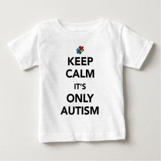 Keep Calm - Autism Awareness Baby T-Shirt