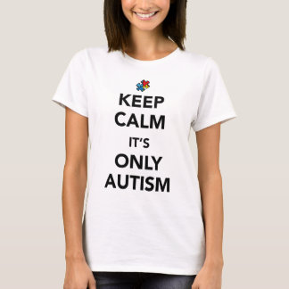 Keep Calm - Autism Awareness T-Shirt