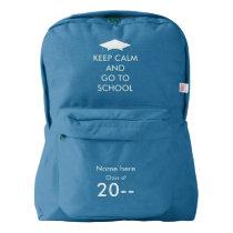 Keep Calm | Back to school Backpack