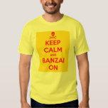 Keep Calm & Banzai On, Advance Squad Leader tshirt